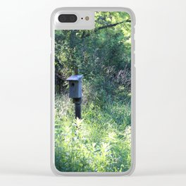 Edge of the Woods Clear iPhone Case