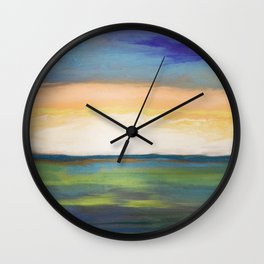 Radiant Morass Wall Clock