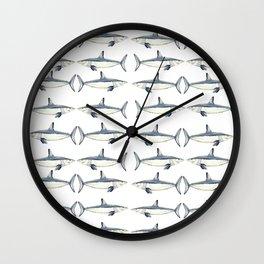 Mako shark Wall Clock