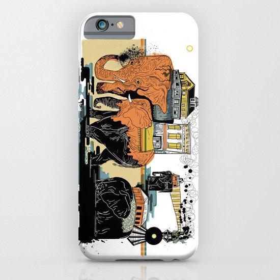 Oiliphants iPhone & iPod Case