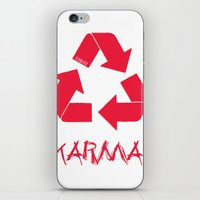 karma iPhone & iPod Skins featuring KARMA by ARTITECTURE