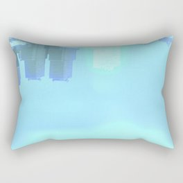 Fly: Glimpse Under Water Rectangular Pillow