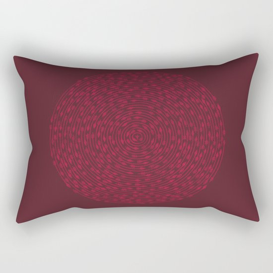 Inescapable Rectangular Pillow