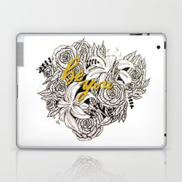 Be You Roses Laptop & iPad Skin