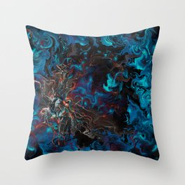 Mystical Conflict Throw Pillow