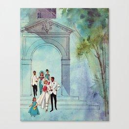 Vintage Wedding Canvas Print
