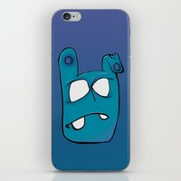 no face iPhone & iPod Skins featuring Face by Chris Napolitano