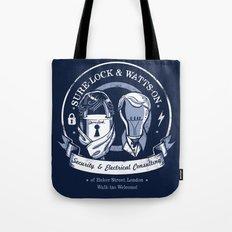 Sure-Lock & Watts-On Consulting Tote Bag
