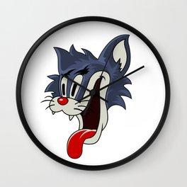 The Bowers Gang Cat Wall Clock