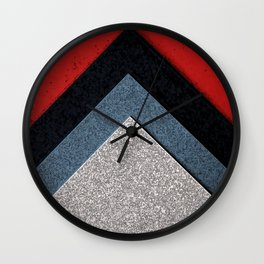 layer up Wall Clock