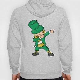 Happy St. Patrick's Day Shirt - Dabbing Leprechaun Hoody