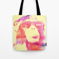 chill Tote Bags featuring Chill by orangpalsu