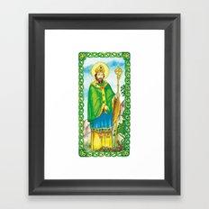Saint Patrick Framed Art Print