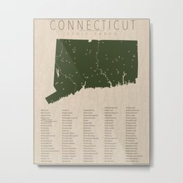Connecticut Parks Metal Print