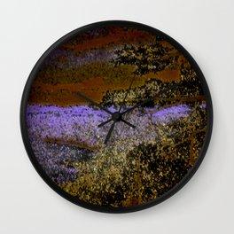 Autumn At The Lakeshore Wall Clock