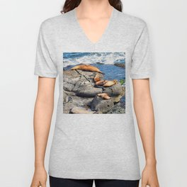 Selkies Unisex V-Neck