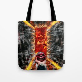 Devil Calavera by GEN Z Tote Bag