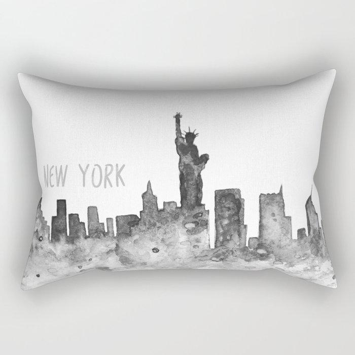 New York art Rectangular Pillow
