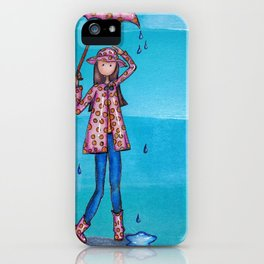 It's all about the Rain Gear iPhone Case