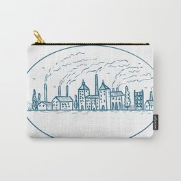 Industrial Revolution Landscape Drawing Carry-All Pouch