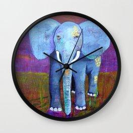 spirit of the elephant Wall Clock