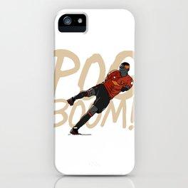 PogBOOM! iPhone Case