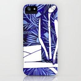 BlueGirl iPhone Case