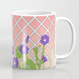 Morning Glory At Sunset Coffee Mug