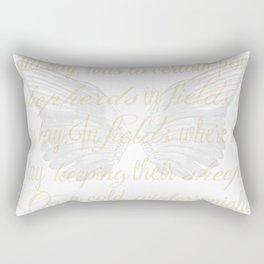 The First Noel angel wings Rectangular Pillow