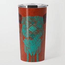 Southwest Skull Travel Mug