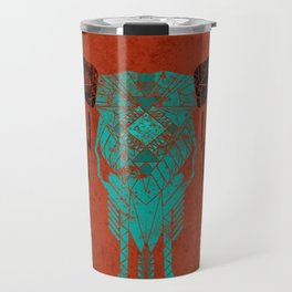 Southwest Skull Travel Mug