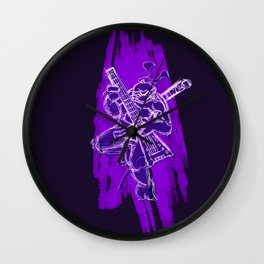 TMNT Rock: Don Wall Clock