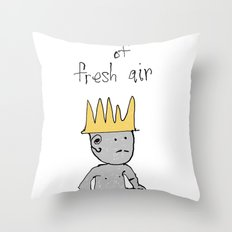 the prince of fresh air Throw Pillow