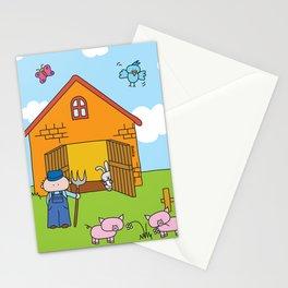 Farm Stationery Cards