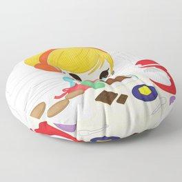 Let's Bake Floor Pillow