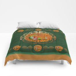 Peacock Celtic Deco Comforters