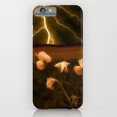 In darkest night one sees the flash but beauty soothes the karmic crash iPhone 6s Slim Case