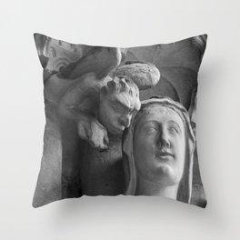 Listen Your Conscience Throw Pillow