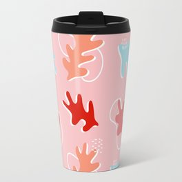 Pink Autumn Travel Mug