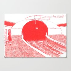 subway II Canvas Print