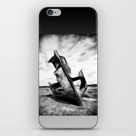 Ghostly Wreck iPhone & iPod Skin