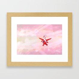 LATIAS - BRIGHT SKY Framed Art Print