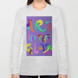 ART IN THE GLASS #5 Long Sleeve T-shirt