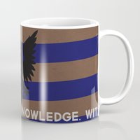 ravenclaw Mugs featuring Ravenclaw by Fanboy's Canvas
