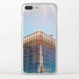 Calgary Skyscraper Clear iPhone Case