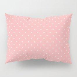 Classic Light Pink Polka Dot Spots on Blush Pink Pillow Sham