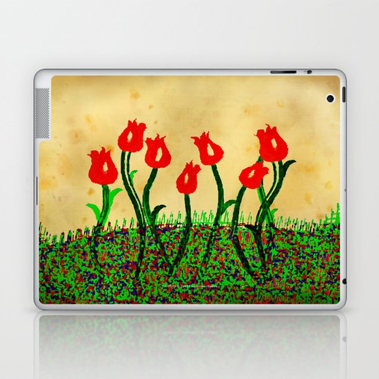FLOWERS 015 Laptop & iPad Skin