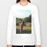 pony Long Sleeve T-shirts featuring pony by catrinaevans