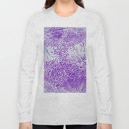 sprinkle of dots in purple Long Sleeve T-shirt