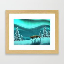 Snowy Fells Framed Art Print